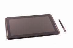 Ten inch tablet pc royalty free stock photography