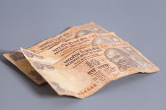 Ten Indian rupees Royalty Free Stock Photos
