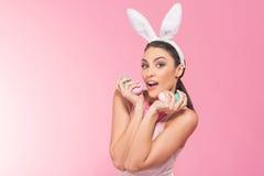 Ten jajka najlepszy dla królika lubią ja Obrazy Royalty Free