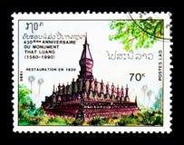 Ten Luang świątynia, 430th rocznica Ten Luang świątynny seria, Zdjęcia Stock