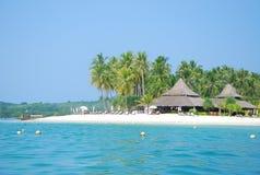 Białego piaska Koh cudowny denny mook Tajlandia Fotografia Stock