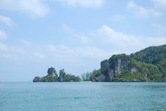 Koh mook paladise na ziemski Tajlandia Fotografia Stock