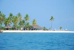 Biały piaska koh mook Tajlandia Zdjęcia Royalty Free