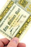 Ten million Reichsmark Royalty Free Stock Image