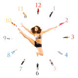 Ten minutes to eleven! Always! Royalty Free Stock Images
