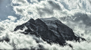 Ten Peaks of Banff Royalty Free Stock Images