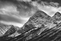 Ten Peaks Majesty Royalty Free Stock Photography