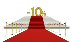 Ten percent discount Royalty Free Stock Images