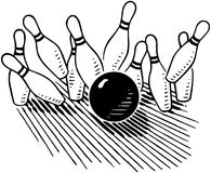 Ten Pin Royalty Free Stock Images