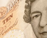 Ten pound note Stock Photos