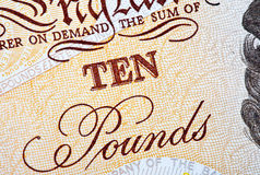 Ten Pounds Royalty Free Stock Images