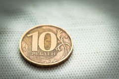 Ten rubles. Stock Photography