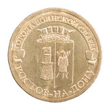 Ten Russian Rubles Stock Images