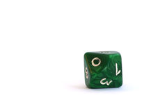 Ten-sided dice Stock Images