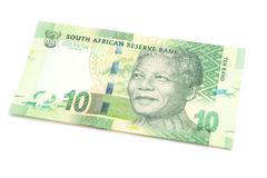 Ten South African Rand Stock Images