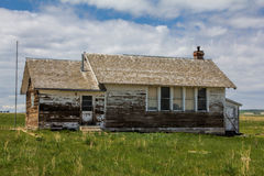 Ten stara szkoła dom fotografia stock
