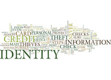 Ten Steps To Reduce Your Risk Of Identity Theft Text Background  Word Cloud Concept Stock Images