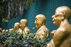 Ten Thousand Buddhas Monastery stock photos