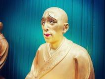 Ten thousand buddhas monastery in Hong Kong. 10000 buddhas monastery in Hong Kong Royalty Free Stock Images