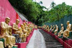 Ten Thousand Buddhas Monastery (Man Fat Sze) Royalty Free Stock Photo