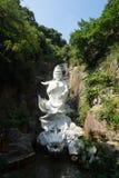 Ten Thousand Buddhas Monastery. (Man Fat Tsz) is a Buddhist temple in Sha Tin, Hong Kong Royalty Free Stock Image