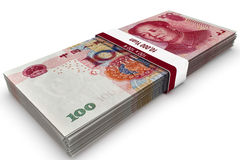 Ten Thousand Yuan Royalty Free Stock Photography