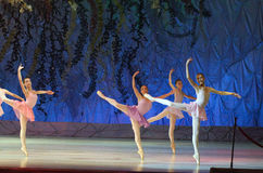 Ten wiecznie baletnicza bajka Zdjęcie Royalty Free