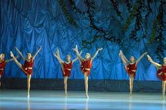 Ten wiecznie baletnicza bajka Obrazy Royalty Free