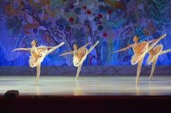 Ten wiecznie baletnicza bajka Zdjęcia Royalty Free