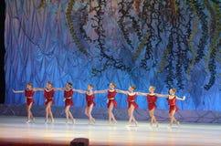 Ten wiecznie baletnicza bajka Fotografia Stock