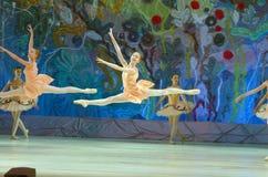 Ten wiecznie baletnicza bajka Obrazy Stock