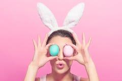 Ten Wielkanocni jajka są duzi Obrazy Stock