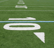 Ten Yard Line Stock Image