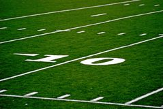 Ten Yard Line Royalty Free Stock Photos