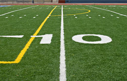 Ten Yard Line Stock Photography