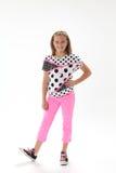 Ten Year Old Girl Royalty Free Stock Photo