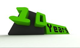 Ten years Royalty Free Stock Photo