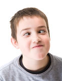 Ten-years-old boy Royalty Free Stock Image