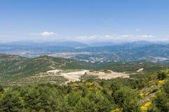 Tena Valley at Huesca, Spain Stock Image