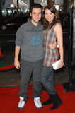 Tenacious D,David Krumholtz. DAVID KRUMHOLTZ & VANESSA BRITTANG at the Los Angeles premiere of Tenacious D in The Pick of Destiny. November 9, 2006  Los Angeles Royalty Free Stock Photo