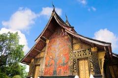 Tenaglie di Wat Chiang Fotografie Stock