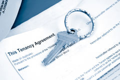 Tenant agreement Royalty Free Stock Images