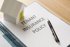 Tenant insurance Stock Photo