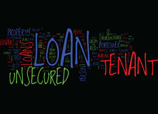Tenants End Your Hunt For Loan Unsecured Tenant Loan Text Background  Word Cloud Concept. TENANTS END YOUR HUNT FOR LOAN UNSECURED TENANT LOAN Text Background Royalty Free Stock Photos