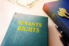 Tenants rights. Tenants rights and keys from apartments Royalty Free Stock Images