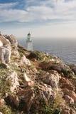 Tenaro Lighthouse royalty free stock photo