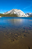 Tenaya湖,优胜美地 库存图片