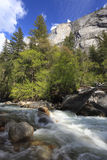 Tenaya Creek in Yosemite National Park Royalty Free Stock Photos