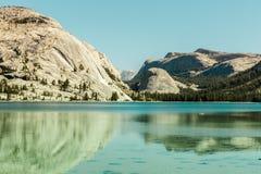 Tenaya jeziora odbicia obraz stock