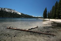 Tenaya Lake stock image